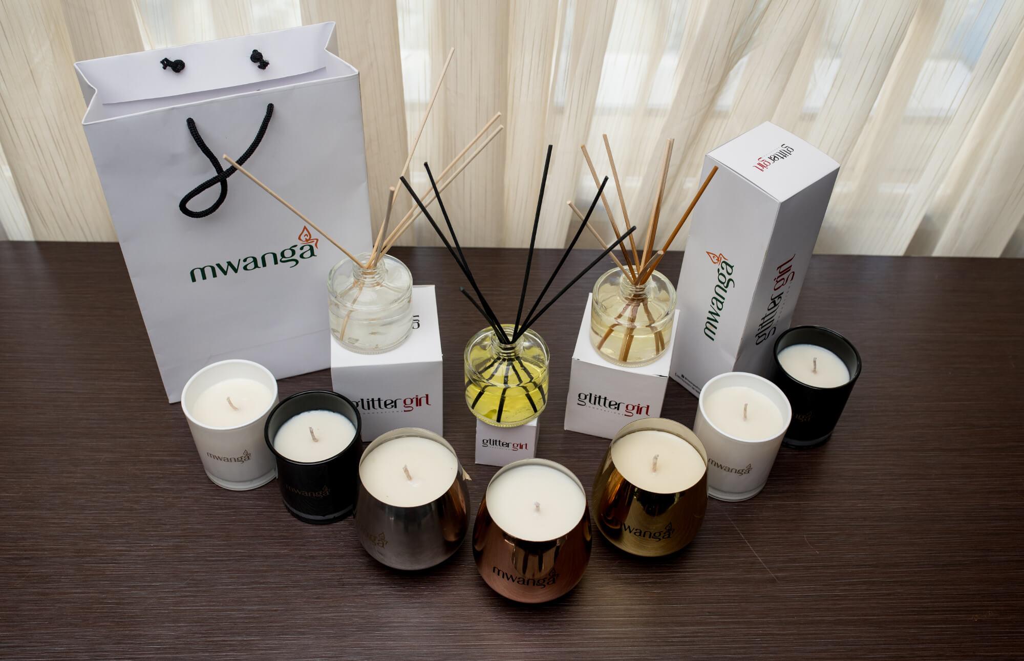 Mwanga Africa Candles & Diffusers