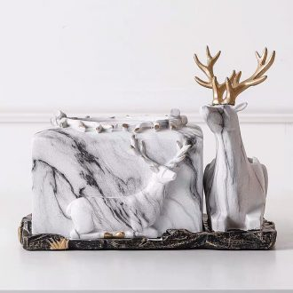 deer phone and tissue holder