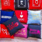 mini pillows